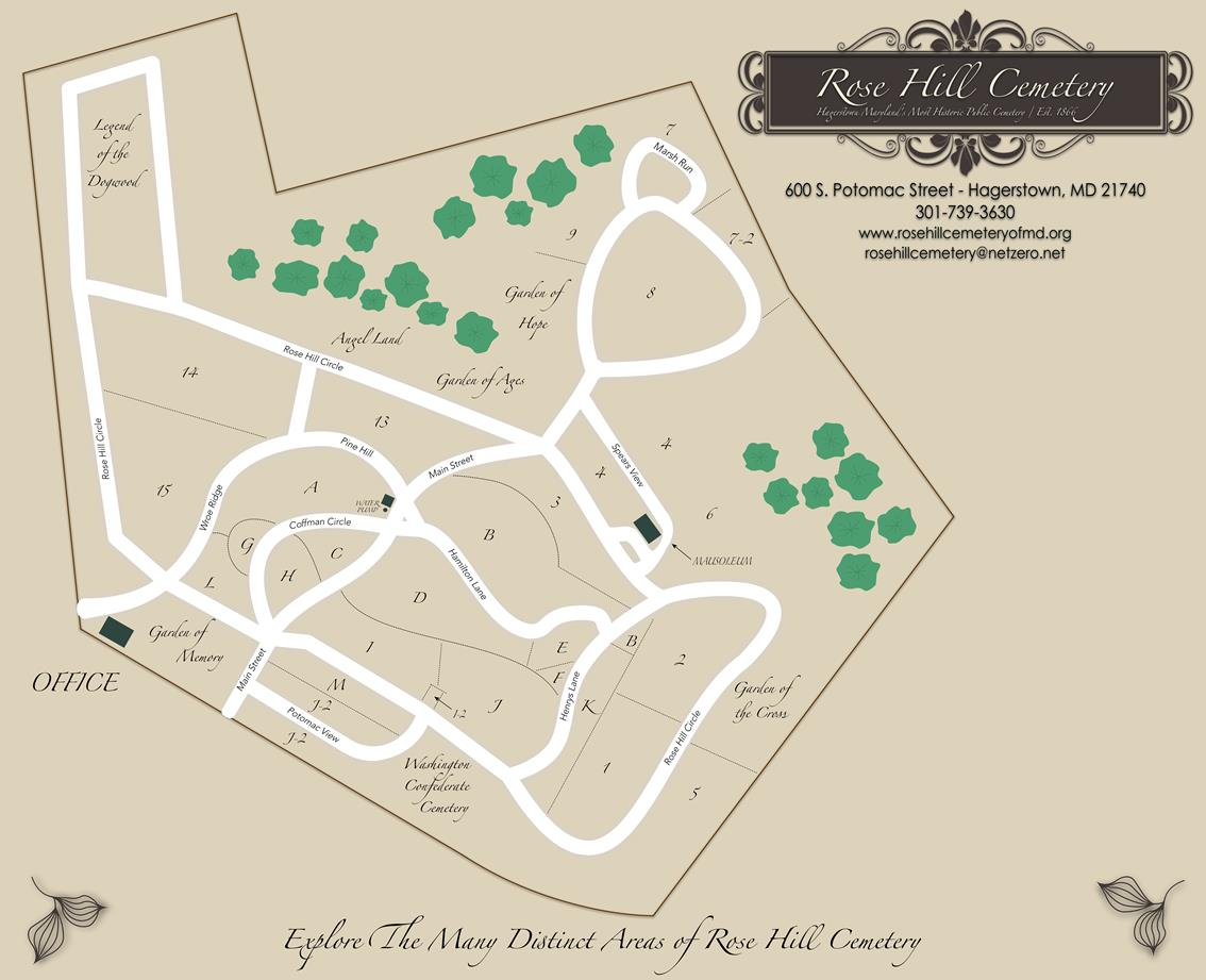 Find A Grave In Hagerstown S Rose Hill Cemetery Genealogy Search